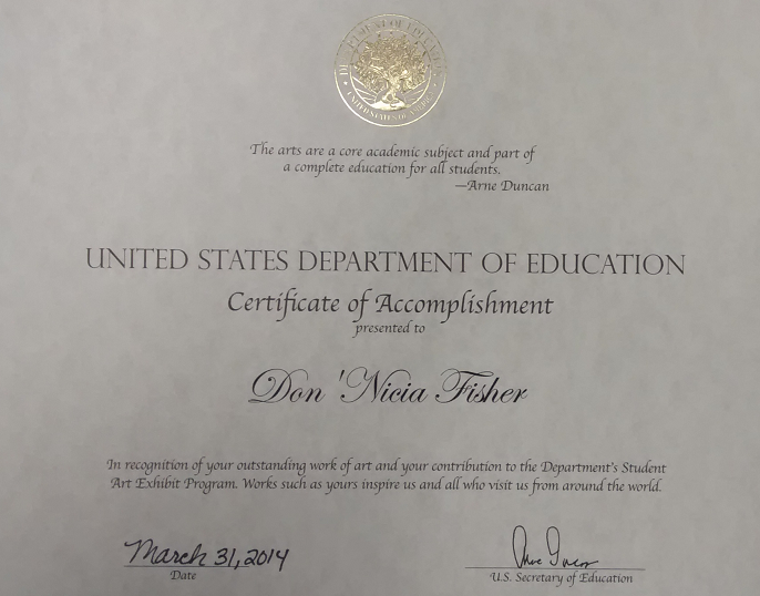 USDOE Certificatex